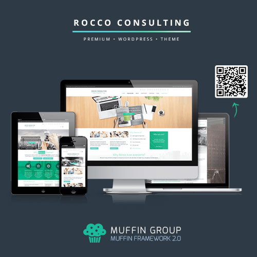 Rocco Flat WordPress Theme