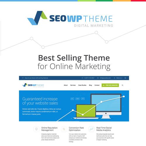 SEO WP Digital Marketing Agency Social Media Company Theme