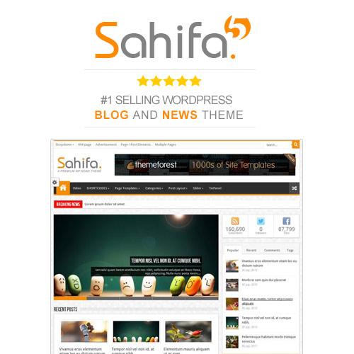 Sahifa Responsive WordPress News Magazine Blog Theme