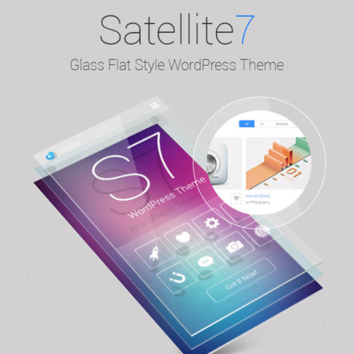 Satellite7 Retina Multi Purpose WordPress Theme
