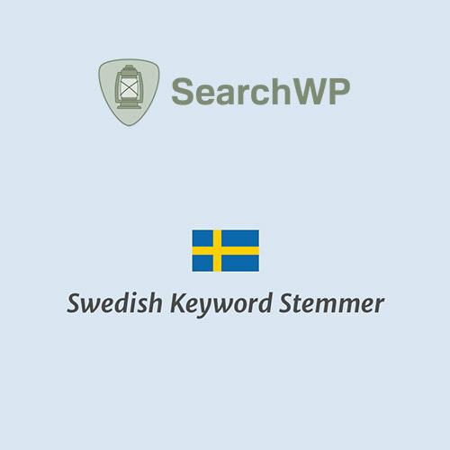 SearchWP Swedish Keyword Stemmer