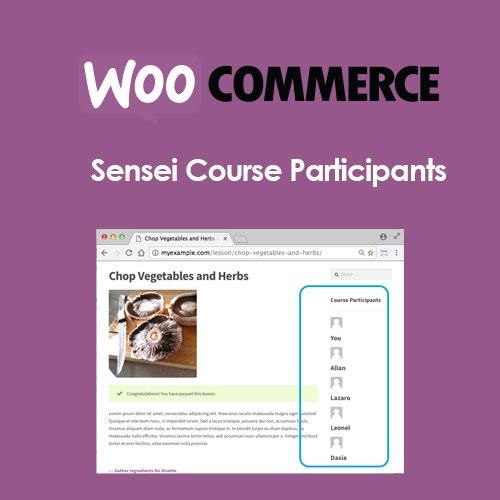 Sensei Course Participants