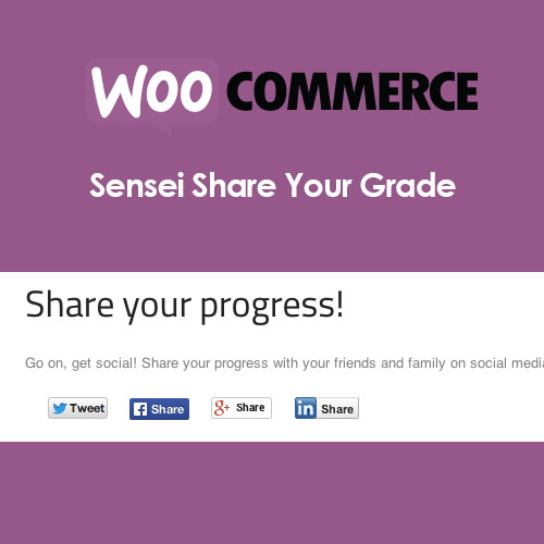Sensei Share Your Grade