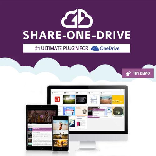 Share one Drive OneDrive plugin for WordPress
