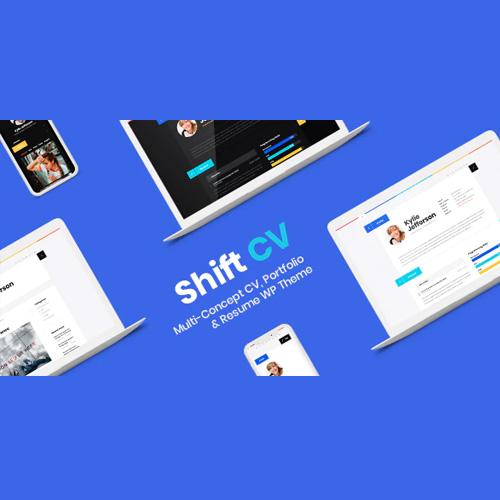 ShiftCV Blog Resume Portfolio WordPress