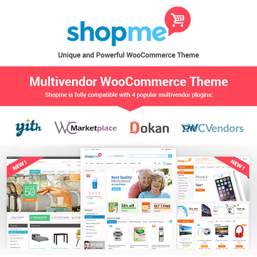 ShopMe Multi Vendor Woocommerce WordPress Theme
