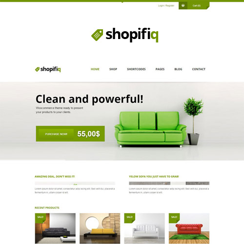Shopifiq Responsive WordPress WooCommerce Theme