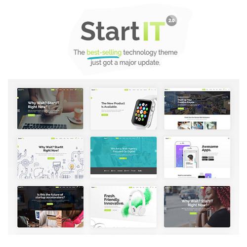 Startit A Fresh Startup Business Theme