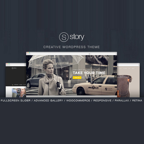 Story Creative Responsive Multi Purpose Theme