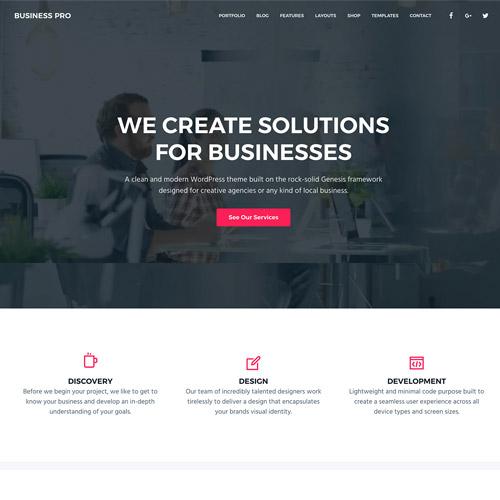 StudioPress Business Pro Genesis WordPress Theme