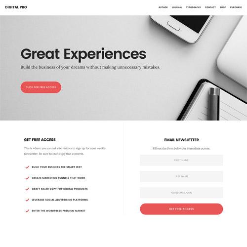 StudioPress Digital Pro Genesis WordPress Theme