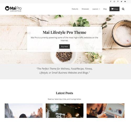 StudioPress Mai Lifestyle Pro Genesis WordPress Theme
