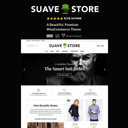Suave Multi Purpose WooCommerce Theme