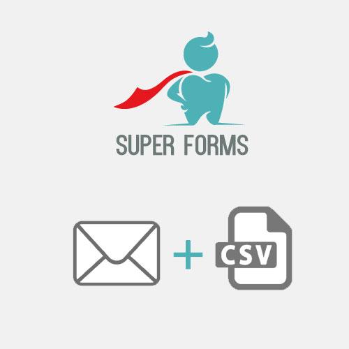 Super Forms CSV Attachment