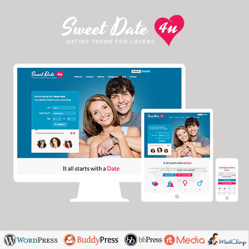 Sweet Date More than a Wordpress Dating Theme
