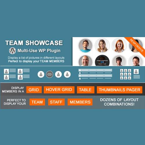 Team Showcase Wordpress Plugin