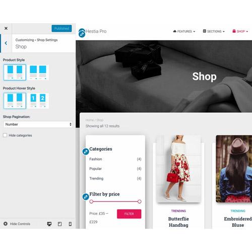 ThemeIsle Hestia Pro WordPress Theme