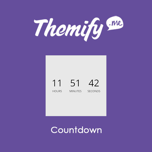 Themify Builder Countdown 1