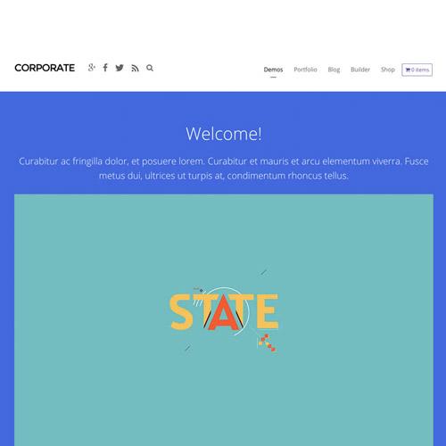 Themify Corporate WordPress Theme