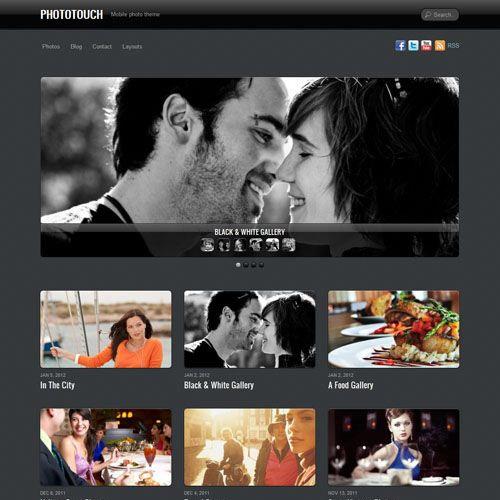 Themify Phototouch WordPress Theme