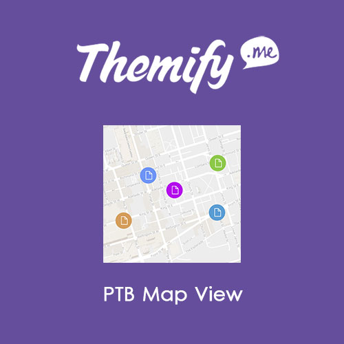 Themify Post Type Builder Map View