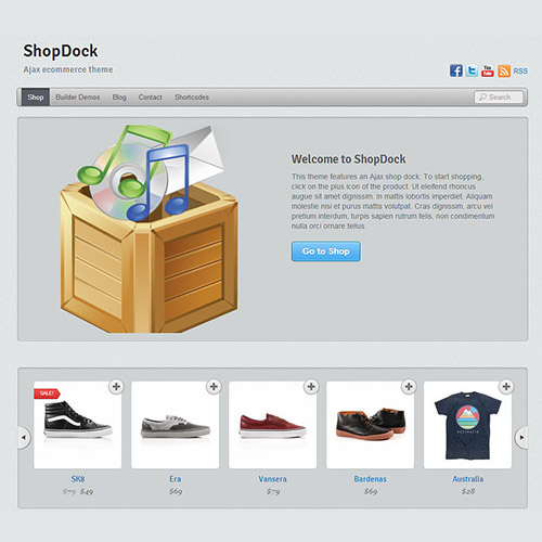Themify Shopdock WooCommerce Theme