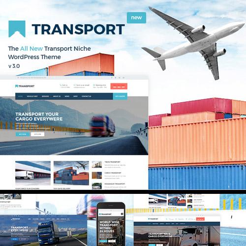 Transport WP Transportation Logistic Theme