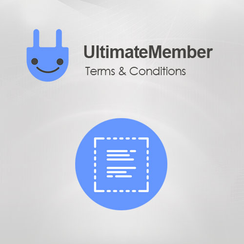 Ultimate Member Terms Conditions Addon