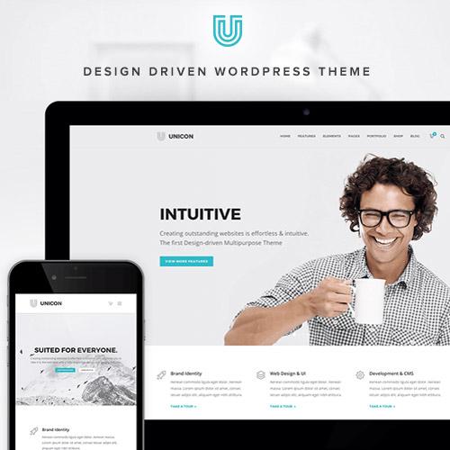 Unicon Design Driven Multipurpose Theme