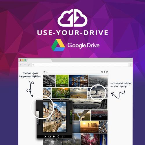Use your Drive Google Drive Plugin for WordPress