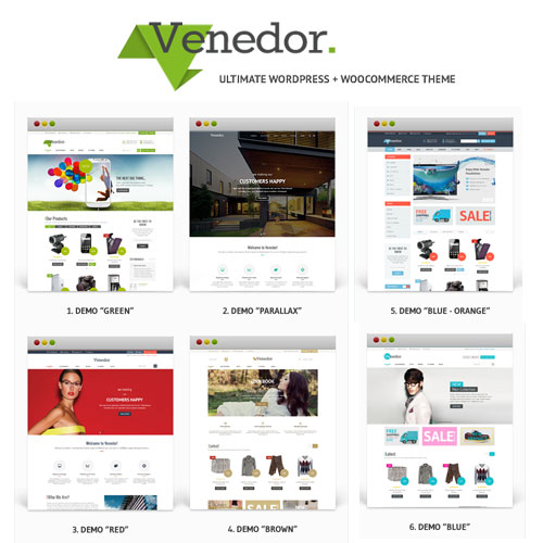 Venedor WordPress WooCommerce Theme
