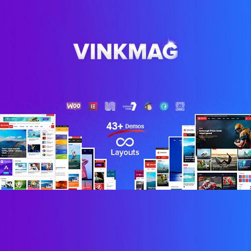 Vinkmag Multi concept Creative Newspaper News Magazine WordPress Theme