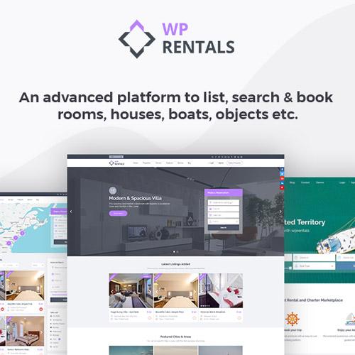 WP Rentals Booking Accommodation WordPress Theme