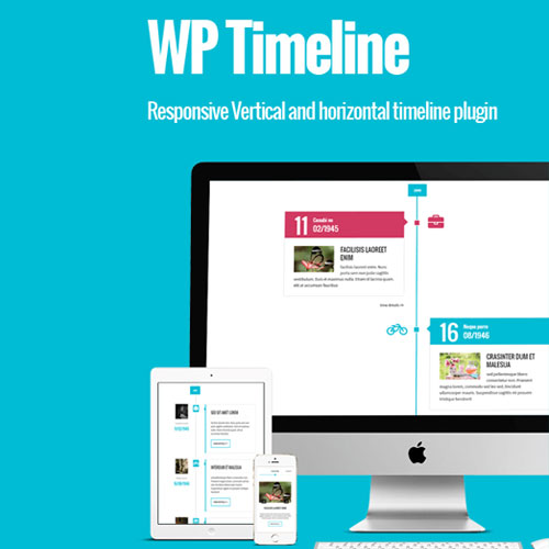WP Timeline Responsive Vertical and Horizontal timeline plugin
