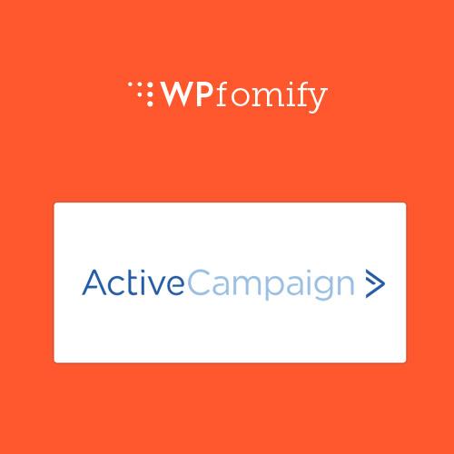 WPFomify Active Campaign Addon