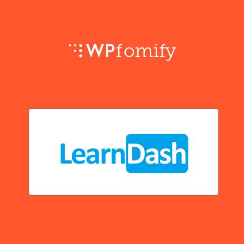 WPFomify LearnDash Addon