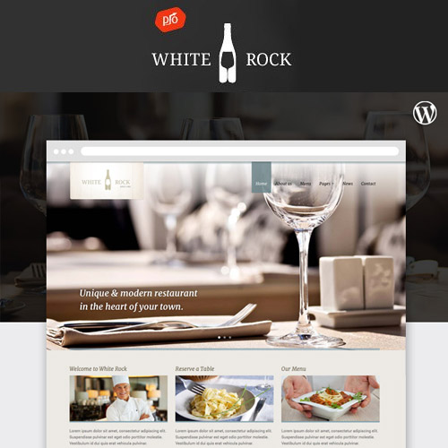 White Rock Restaurant Winery Theme