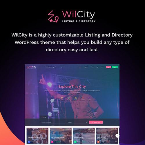 Wilcity Directory Listing WordPress Theme