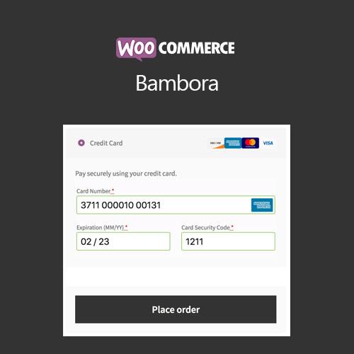 WooCommerce Bambora Beanstream