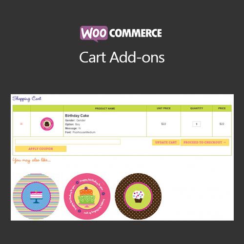 WooCommerce Cart Add ons