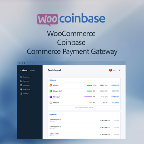 WooCommerce Coinbase Commerce Payment Gateway