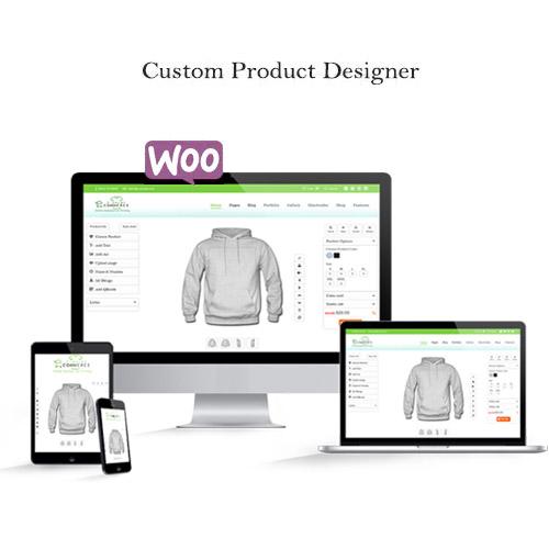 WooCommerce Custom Product Designer