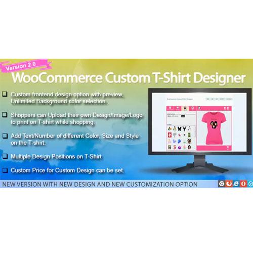 WooCommerce Custom T Shirt Designer