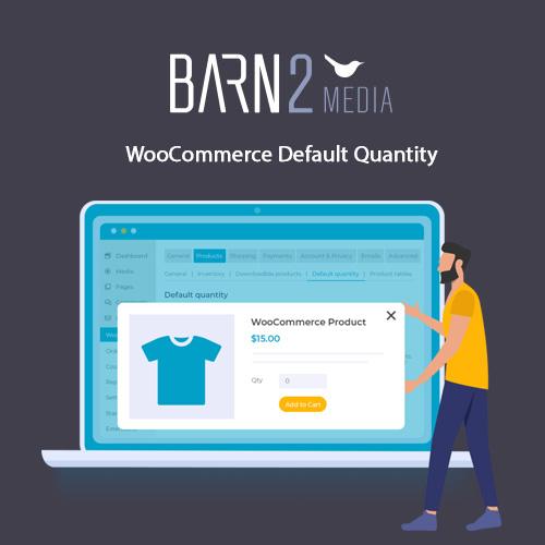 WooCommerce Default Quantity Barn2