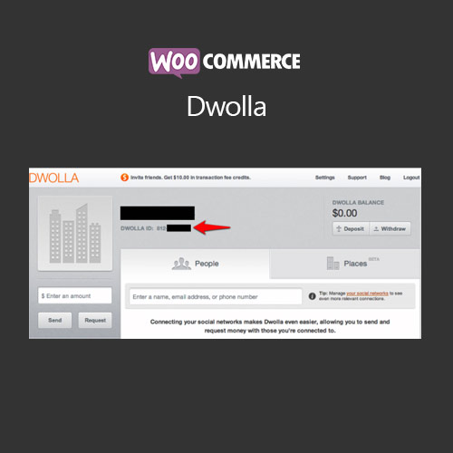 WooCommerce Dwolla