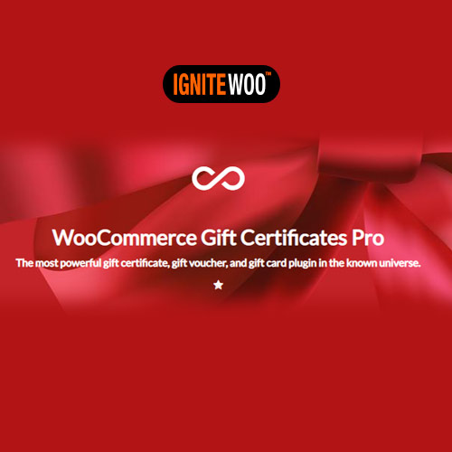 WooCommerce Gift Certificates Pro by IgniteWoo