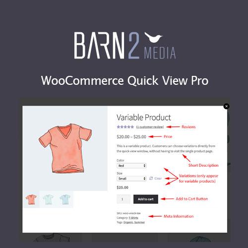 WooCommerce Quick View Pro Barn2