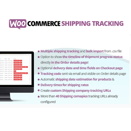 WooCommerce Shipping Tracking