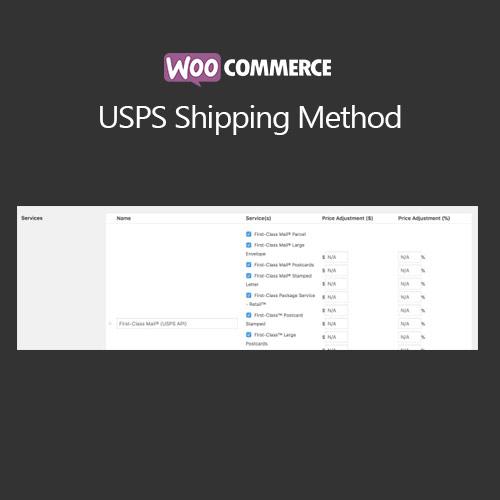 WooCommerce USPS Shipping Method