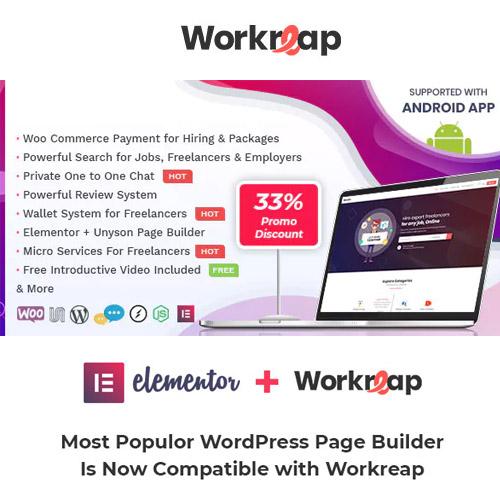 Workreap Freelance Marketplace WordPress Theme